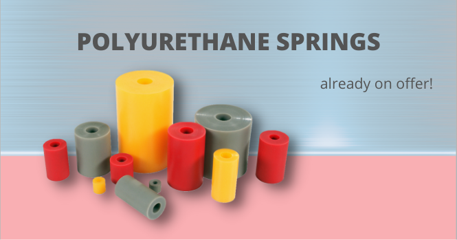 Polyurethane springs on offer